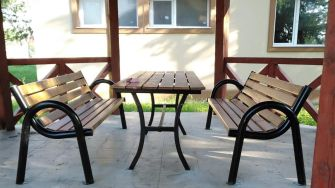 Loc de relaxare în Comana. FOTO Primăria Comana