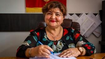 Anica Tufă, primarul din Gârliciu. FOTO Paul Alexe
