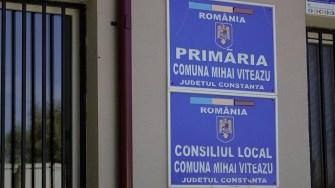 Primăria comunei Mihai Viteazu. FOTO Paul Alexe