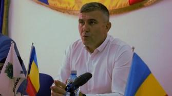 Gheorghe Cojocaru, primarul orașului Murfatlar. FOTO Paul Alexe