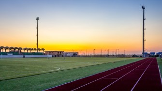 Complexul sportiv din Cumpăna. FOTO Paul Alexe