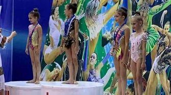 Medalii obținute de micuțele sportive din Cumpăna la turneul de gimnastica ritmică de la Ploiești