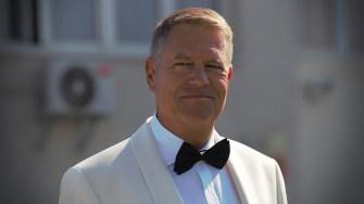 Klaus Iohannis. FOTO Paul Alexe