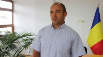Florin Dabija, directorul Societății de Salubrizare Cumpăna. FOTO Adrian Boioglu