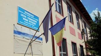 Liceul din Mihai Viteazu. FOTO Paul Alexe
