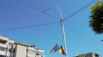 Iluminatul public în Cernavodă. FOTO Paul Alexe