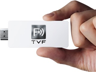 HDMI stick from Japanese startup TVF