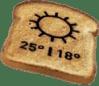 printed toast