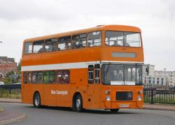 Ex Cardiff Volvo 407 sees it's first use for 5 years