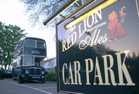 """Number 8 rests at """"The Red Lion"""" Bonvilston"""