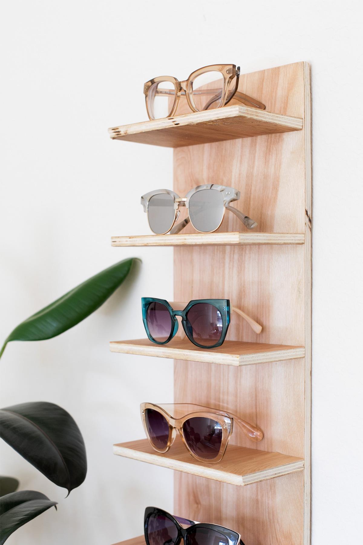 Renter Friendly Diy Sunglasses Holder For End Of Summer