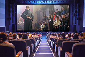 Scene from Martin Luther: The Idea That Changed the World