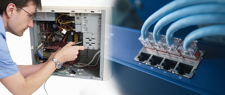 Elk Grove Village Illinois On Site Computer PC & Printer Repair, Network, Voice & Data Cabling Technicians