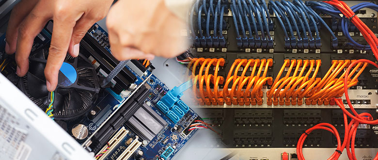 Oak Lawn Illinois On Site Computer PC & Printer Repairs, Networks, Voice & Data Cabling Contractors