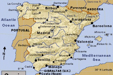 valencia location on the spain map valencia » Another Maps [Get Maps ...