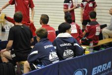 Au repos en regardant la finale U18
