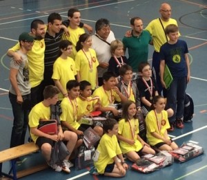 delegation AGTT school trophy 2015