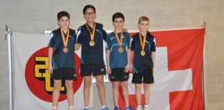 Championnat genevois U13 - 3 premières places pour CTT Châtelaine