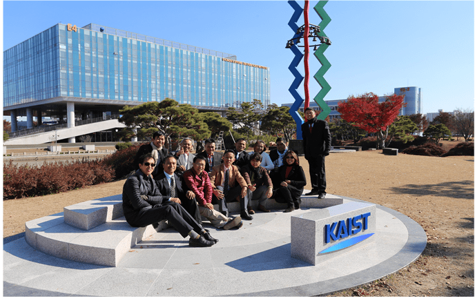 College of Technology (COT) faculty visits Korea Advanced Institute of Science and Technology (KAIST).