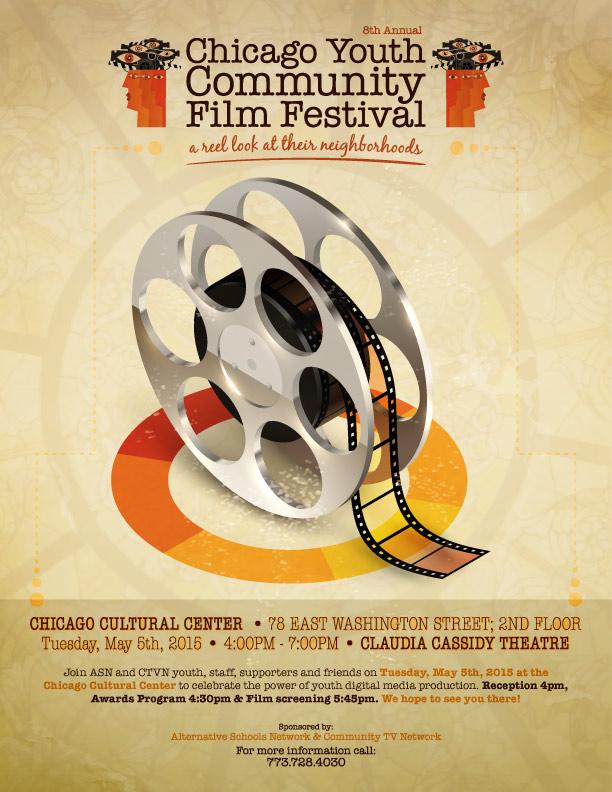 CTVN Chicago Youth Community Film Festival 2015