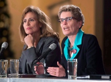 Sandra Pupatello and Kathleen Wynne