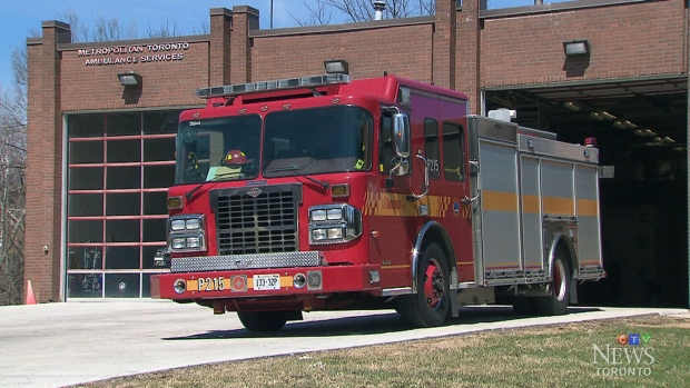 Four Toronto Fire Trucks To Be Decommissioned Monday Due