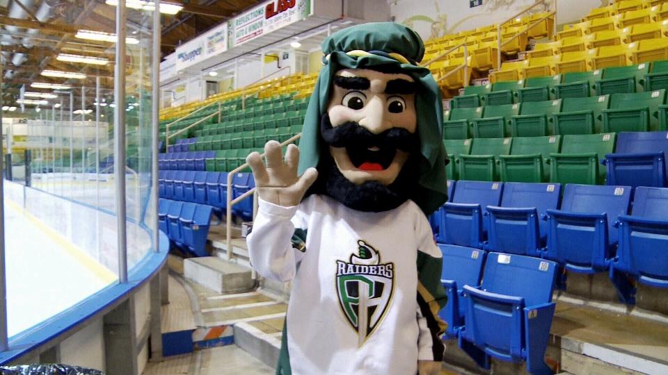 Prince Albert Raiders Unveil New Mascot Stir Public