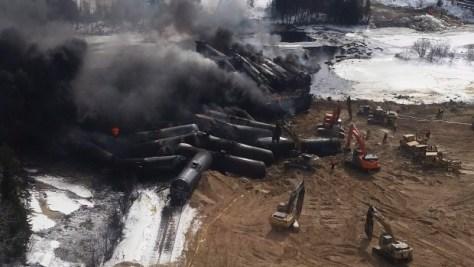 CN Rail derailment