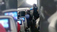 Unruly passenger on Air Canada flight