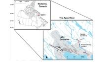 Map of Apex River