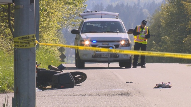 Comox Man Killed After Motorcycle Slams Into Bus CTV News