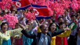 Image result for N. Korea leaves ICBMs out of parade as it celebrates 70 years