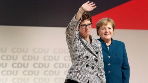 Bildergebnis für 'Thank you boss!': Germany's Conservatives Say Goodbye to Merkel