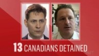 Image result for Since Huawei executive's arrest, 13 Canadians have been detained in China