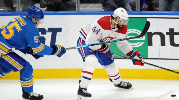 Habs get best of Blues again with 5-2 win