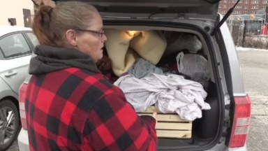 This woman worked and lived in her transport truck. Then the company she worked for closed without notice