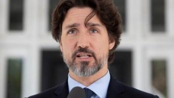 Canadien Prime Minister Justin Trudeau