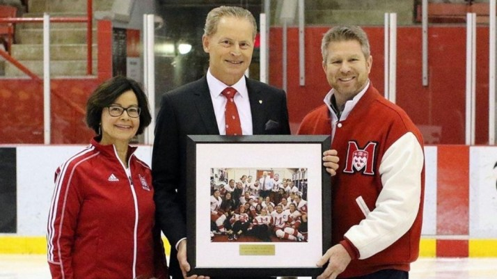 Winningest women's hockey coach in McGill history, Peter Smith, calls it a  career | CTV News