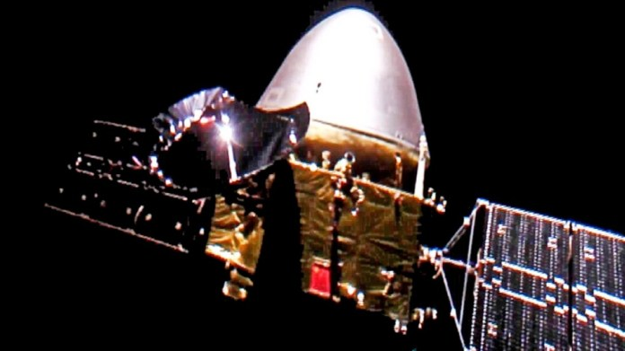 China's Tianwen-1 probe