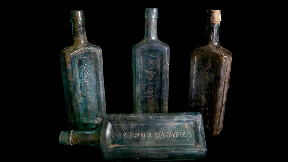 Hazard & Caswell bottles