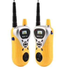 Portable Mini Walkie Talkie Home Offices Safety 100metres Interphone 2pcs