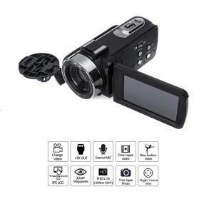 Digital Video Camcorder Camera 30MP 3.0″ Touchscreen 2.7k ULTRA Full UHD