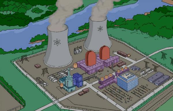 Los residuos nucelares no pueden gestionarse bien, ni en Los Simpsons ni en el mundo real.