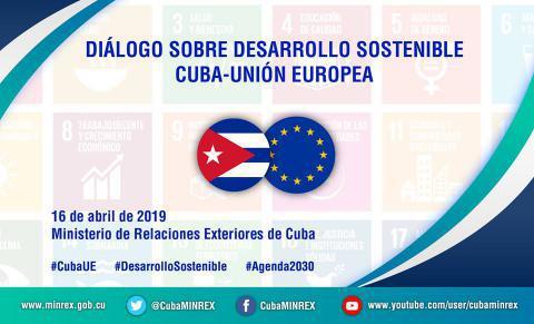 Cuba y la Unión Europea dialogarán sobre desarrollo sostenible
