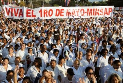 Desfile por el primero de mayo