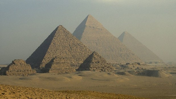 They find evidence of the system used in Egypt to move the pyramid block