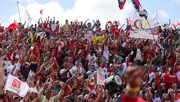 Venezuela resiste. Foto: @NicolasMaduro/ Twitter.