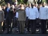 CUBA-PRESIDE RAUL ACTO POR EL 118 ANIVERSARIO DE LA CAIDA EN COM