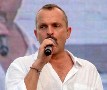 Miguel Bosé, Concierto Paz sin Fronteras