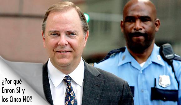 Jeffrey K. Skilling, el ex presidente de Enron, quien fue condenado en el 2006 de 35 cargos de fraude y otros crímenes.